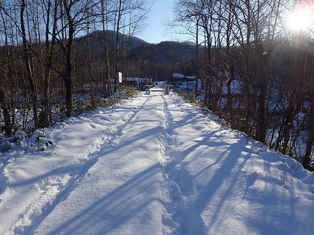 北海道 冬道