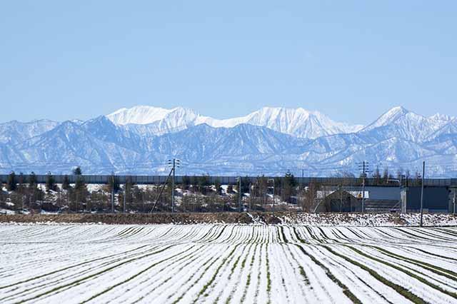 北海道 日高山脈