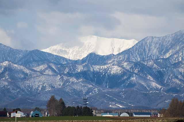 日高山脈 十勝平野