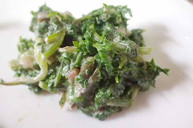 山菜 シャク レシピ