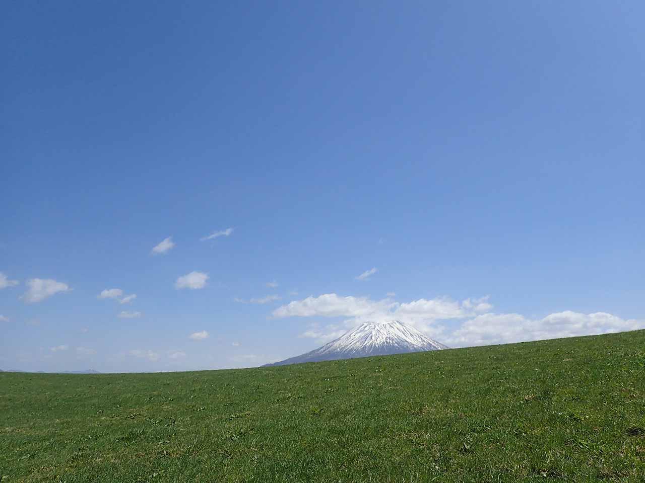 羊蹄山 景色 景観