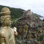 探検@知床 知床岬トレッキングその4 観音岩とその向こう