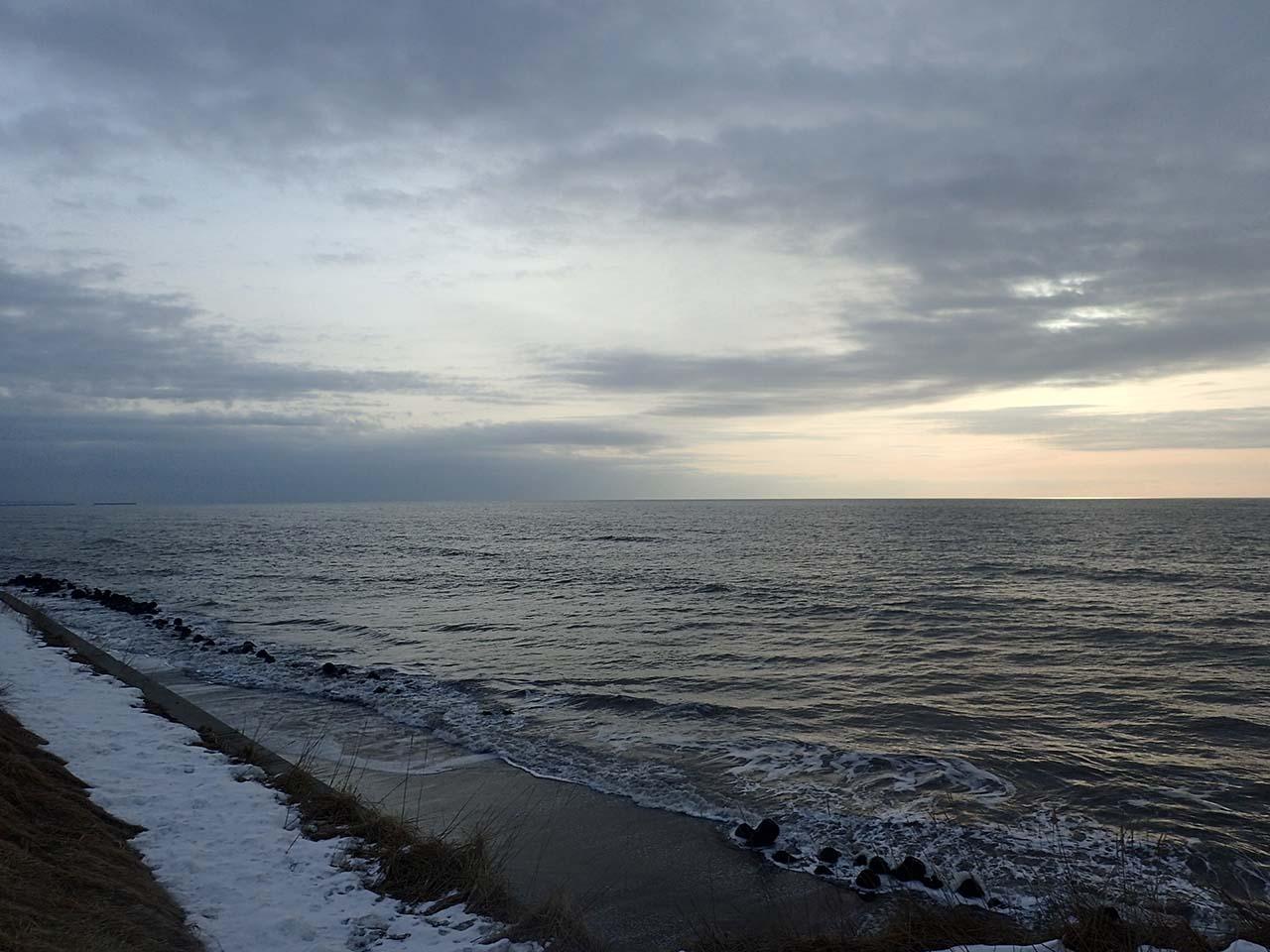 北海道の海岸線