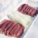 シカ刺し エゾシカ肉の刺身の味と食感、衛生管理