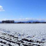 北海道の冬は約半年 10月下旬から4月まで