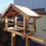 野鳥エサ台(バードフィーダー)設置のすゝめ 設置費用は3000円と月々1000円