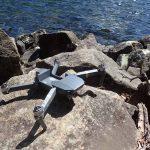 ドローン水没 水没状況と対応と修理について