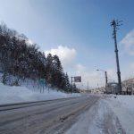 北海道の峠道 冬の石勝樹海ロードを行く