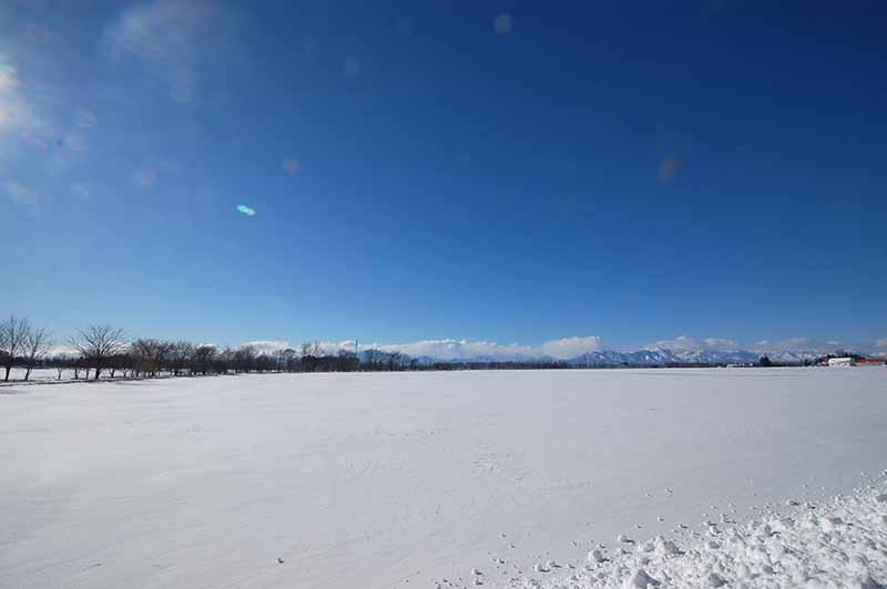 北海道雪景色