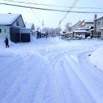 雪が降った後の空気は気持ちが良い話