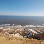 北海道道東の隠れた観光名所【昆布刈石展望台】から太平洋を見ると地球が丸いことが分かる