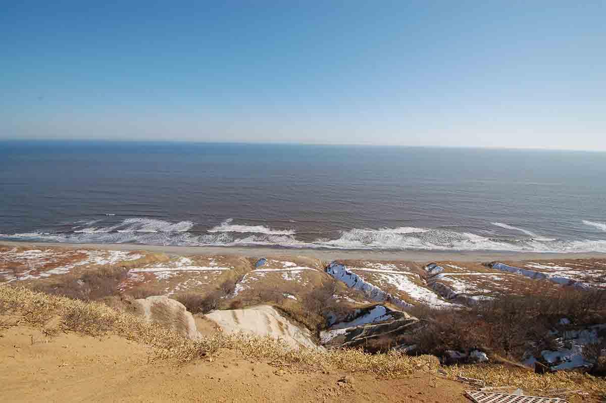 十勝の海岸線