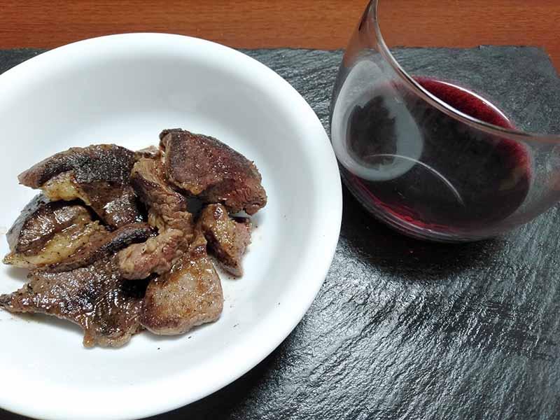 ジビエ エゾシカ肉の焼肉