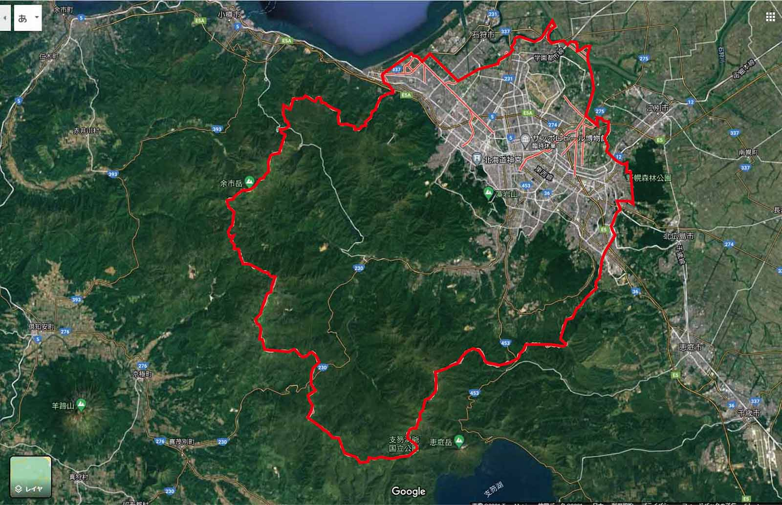 札幌市図面