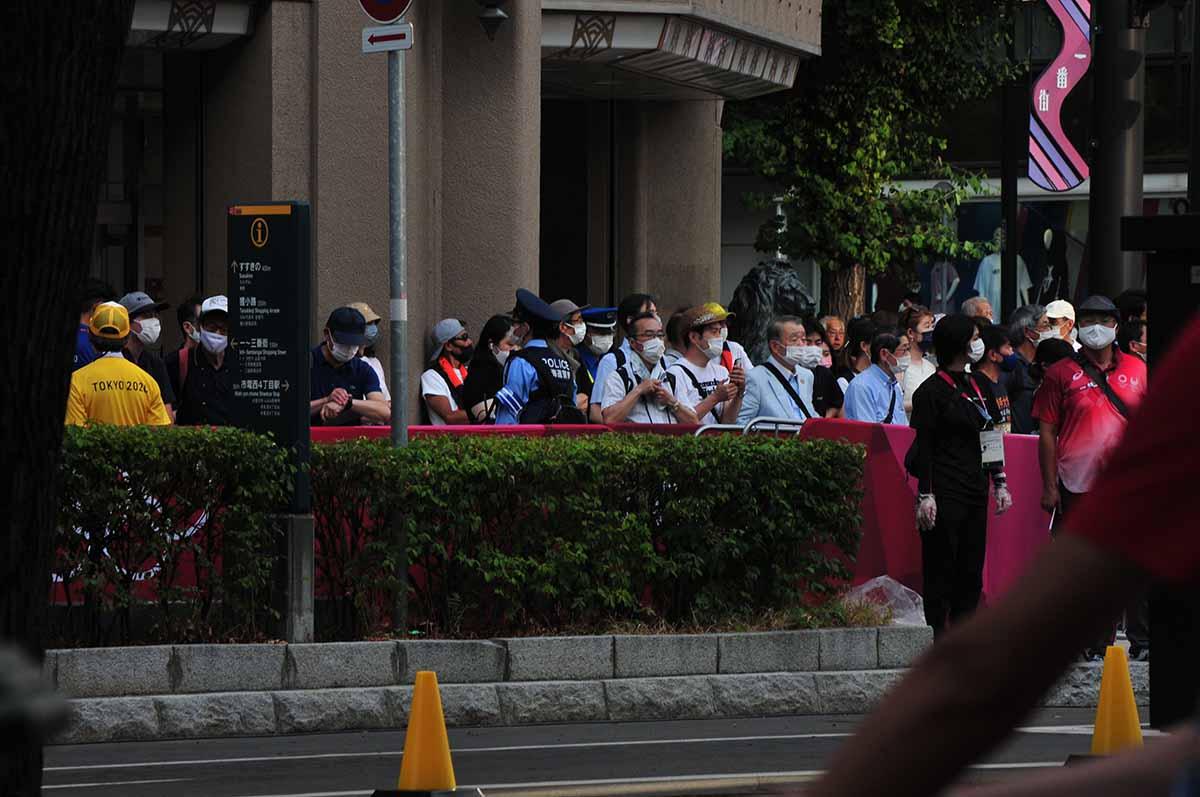 東京オリンピック陸上男性競歩