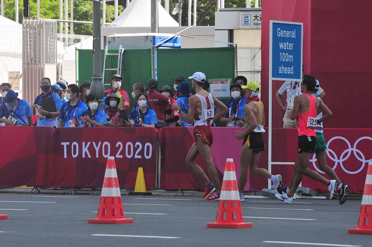 東京オリンピック競歩