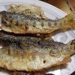 川魚の決定版 ヤマメのムニエル バターでカラッとサクッとホクホクに
