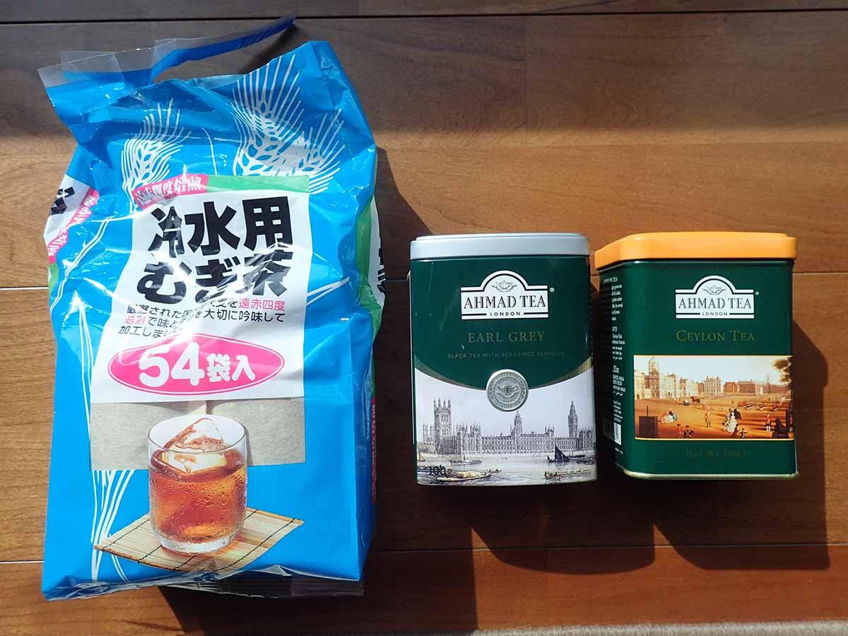 紅茶・麦茶